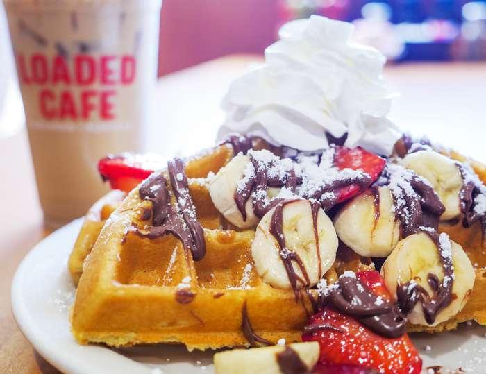 Loaded Cafe Restaurants Bellflower - cafe  | Photo 2 of 10 | Address: 15700 Bellflower Blvd, Bellflower, CA 90706, USA | Phone: (562) 210-5467