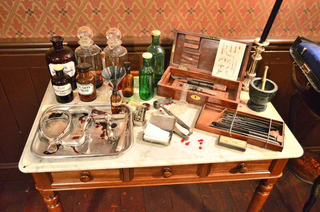 Jack The Ripper Museum - museum    Photo 5 of 10   Address: 12 Cable St, Whitechapel, London E1 8JG, UK   Phone: 020 7488 9811