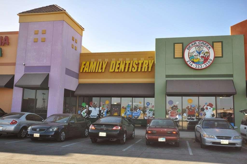 Bear Creek Family Dentistry - Cockrell Hill - dentist    Photo 1 of 10   Address: 4470 W Jefferson Blvd #500, Dallas, TX 75211, USA   Phone: (214) 333-3100