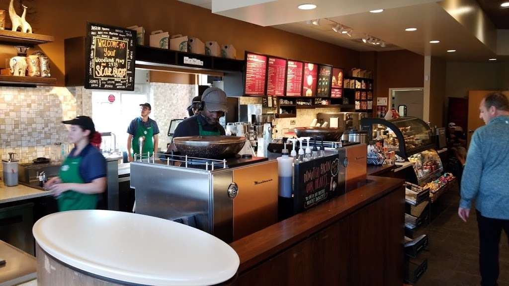 Starbucks - cafe  | Photo 6 of 10 | Address: 9955 Woodlands Pkwy, The Woodlands, TX 77382, USA | Phone: (281) 419-0329