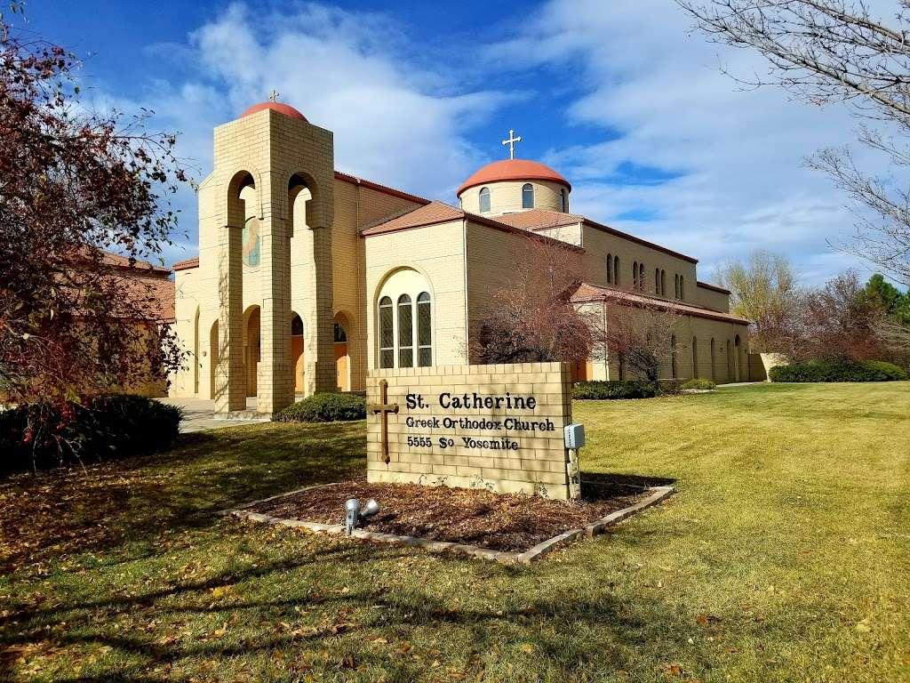 Saint Catherine Greek Orthodox Church - church  | Photo 3 of 9 | Address: 5555 S Yosemite St, Greenwood Village, CO 80111, USA | Phone: (303) 773-3411
