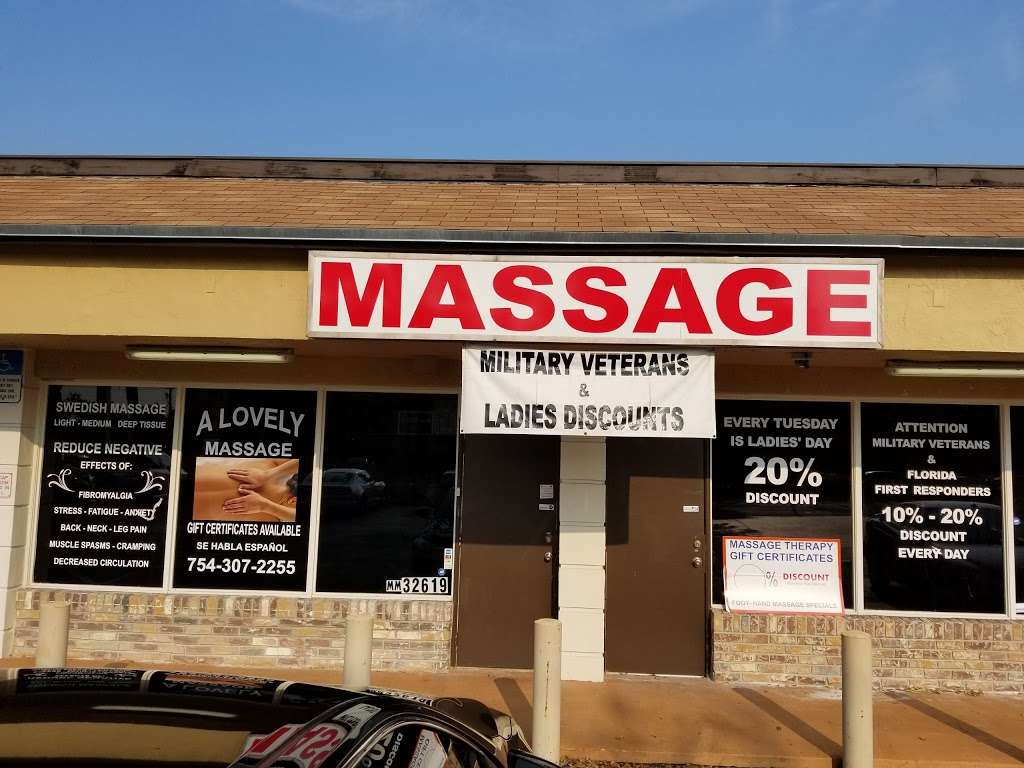 A Lovely Massage - spa  | Photo 2 of 5 | Address: 230 S Cypress Rd H, Pompano Beach, FL 33060, USA | Phone: (754) 307-2255