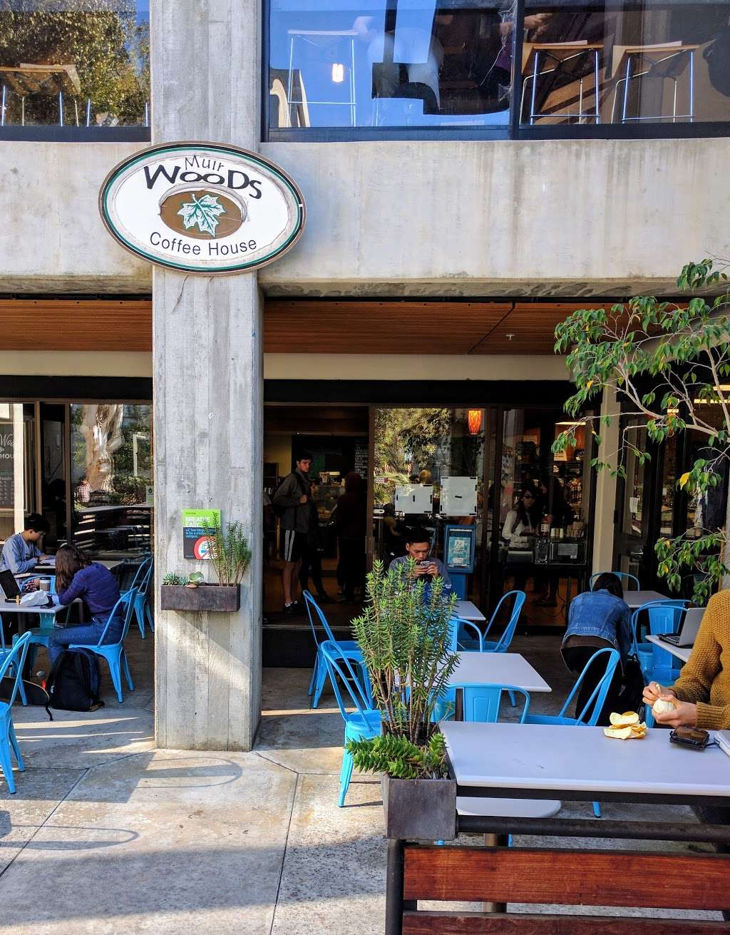 Muir Woods Coffee House - cafe  | Photo 3 of 10 | Address: 9500 Gilman Dr, La Jolla, CA 92093, USA