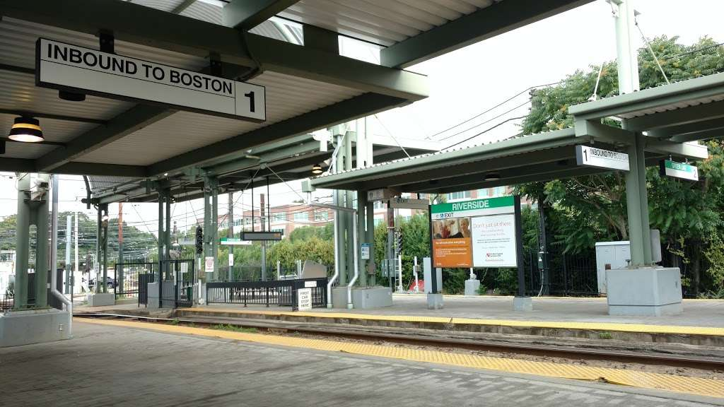 Riverside - transit station  | Photo 7 of 10 | Address: 333 Grove St, Newton, MA 02466, USA
