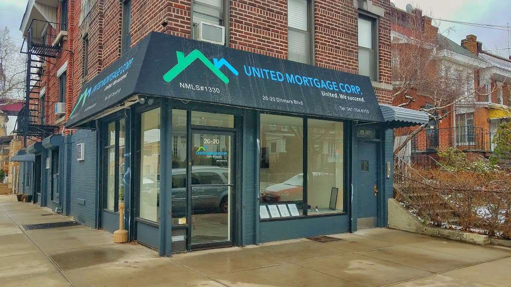 United Mortgage Corp. MLS# 1330 - bank  | Photo 1 of 3 | Address: 26-20 Ditmars Blvd, Long Island City, NY 11105, USA | Phone: (347) 754-6110
