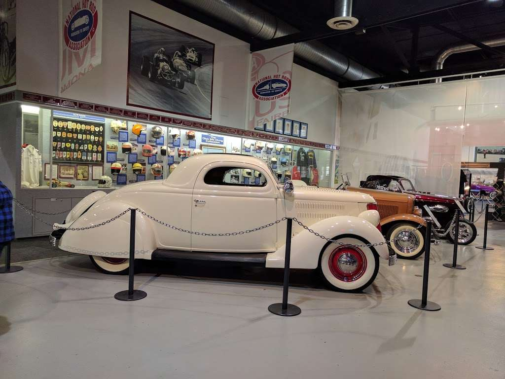 NHRA Motorsports Museum   1101 W McKinley Ave, Pomona, CA 91768, USA