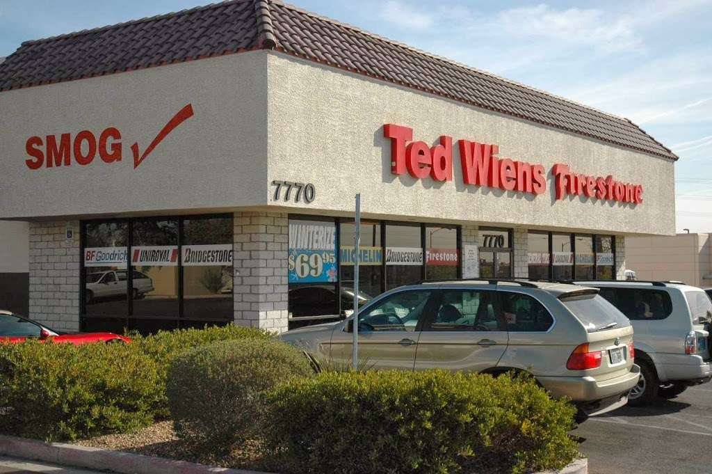 Ted Wiens Tire and Auto - car repair  | Photo 3 of 10 | Address: 7770 W Cheyenne Ave, Las Vegas, NV 89129, USA | Phone: (702) 939-8473
