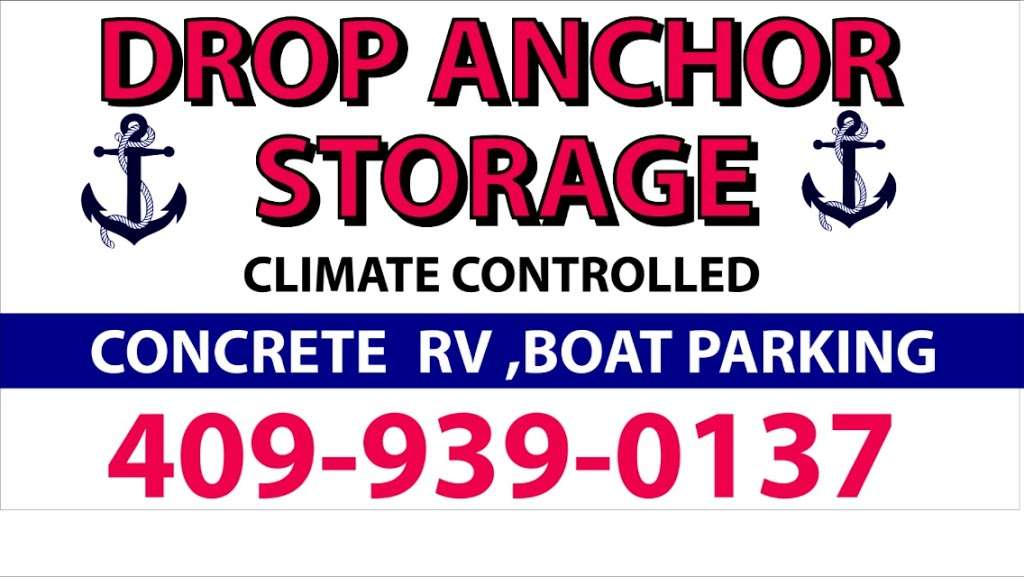 Drop Anchor Storage - storage  | Photo 3 of 3 | Address: 1044 State Hwy 87, Crystal Beach, TX 77650, USA | Phone: (409) 939-0137