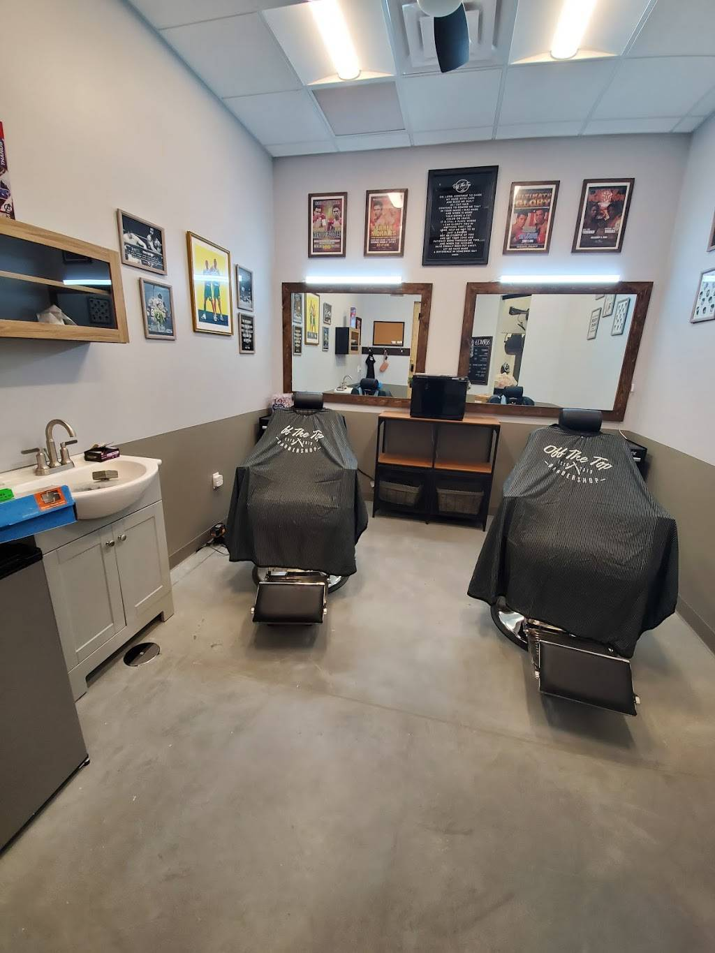 Off The Top Barbershop - hair care  | Photo 1 of 7 | Address: 21455 S Ellsworth Rd suite #43, Queen Creek, AZ 85142, USA | Phone: (480) 616-5683