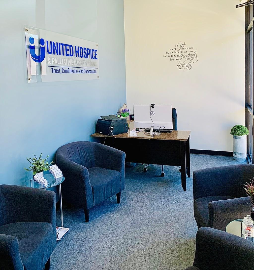 United Hospice & Palliative Care of Arizona - health  | Photo 2 of 6 | Address: 2630 E Mohawk Ln Suite 132, Phoenix, AZ 85050, USA | Phone: (602) 296-4717