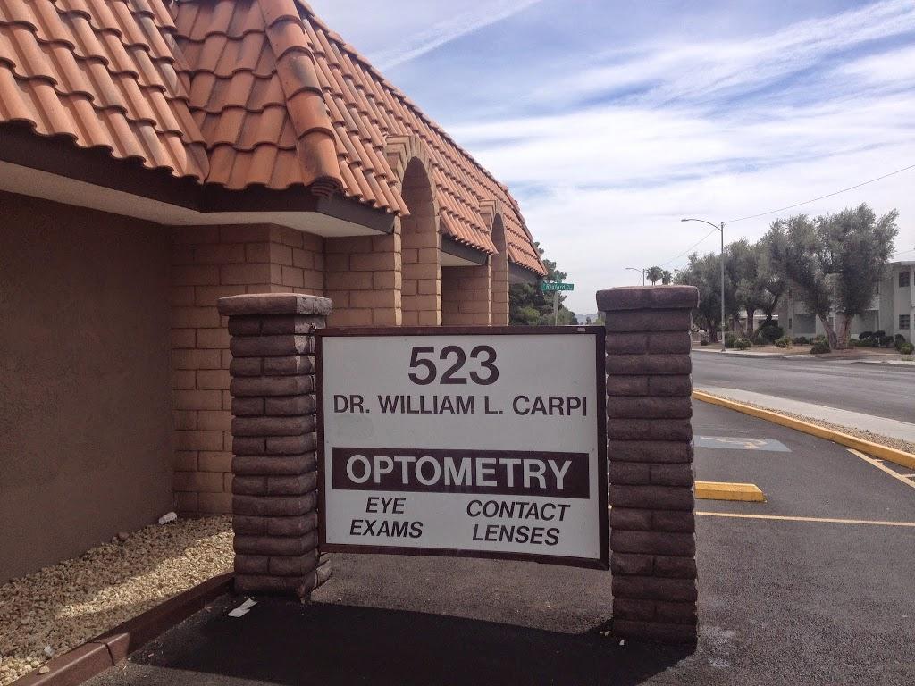 Carpi & Carpi Ltd: Carpi William L OD - health  | Photo 1 of 2 | Address: 523 E Oakey Blvd, Las Vegas, NV 89104, USA | Phone: (702) 384-5353