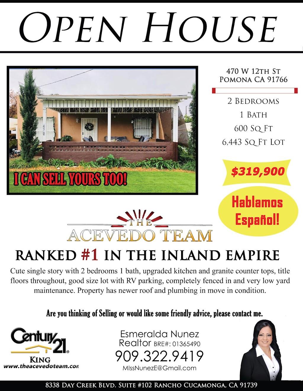 Esmeralda Nunez Century 21 King The Acevedo Team - real estate agency  | Photo 7 of 10 | Address: 8338 Day Creek Blvd Ste 102, Rancho Cucamonga, CA 91739, USA | Phone: (909) 758-4840