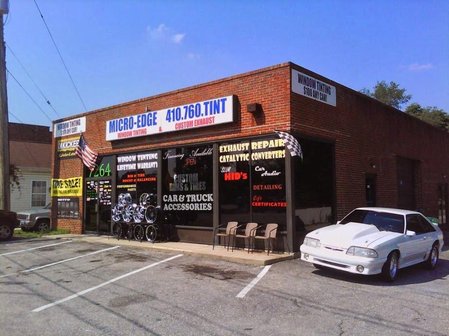 Micro-Edge Window Tinting & Custom Exhaust - car repair  | Photo 1 of 10 | Address: 7264 E Furnace Branch Rd, Glen Burnie, MD 21060, USA | Phone: (410) 760-8468
