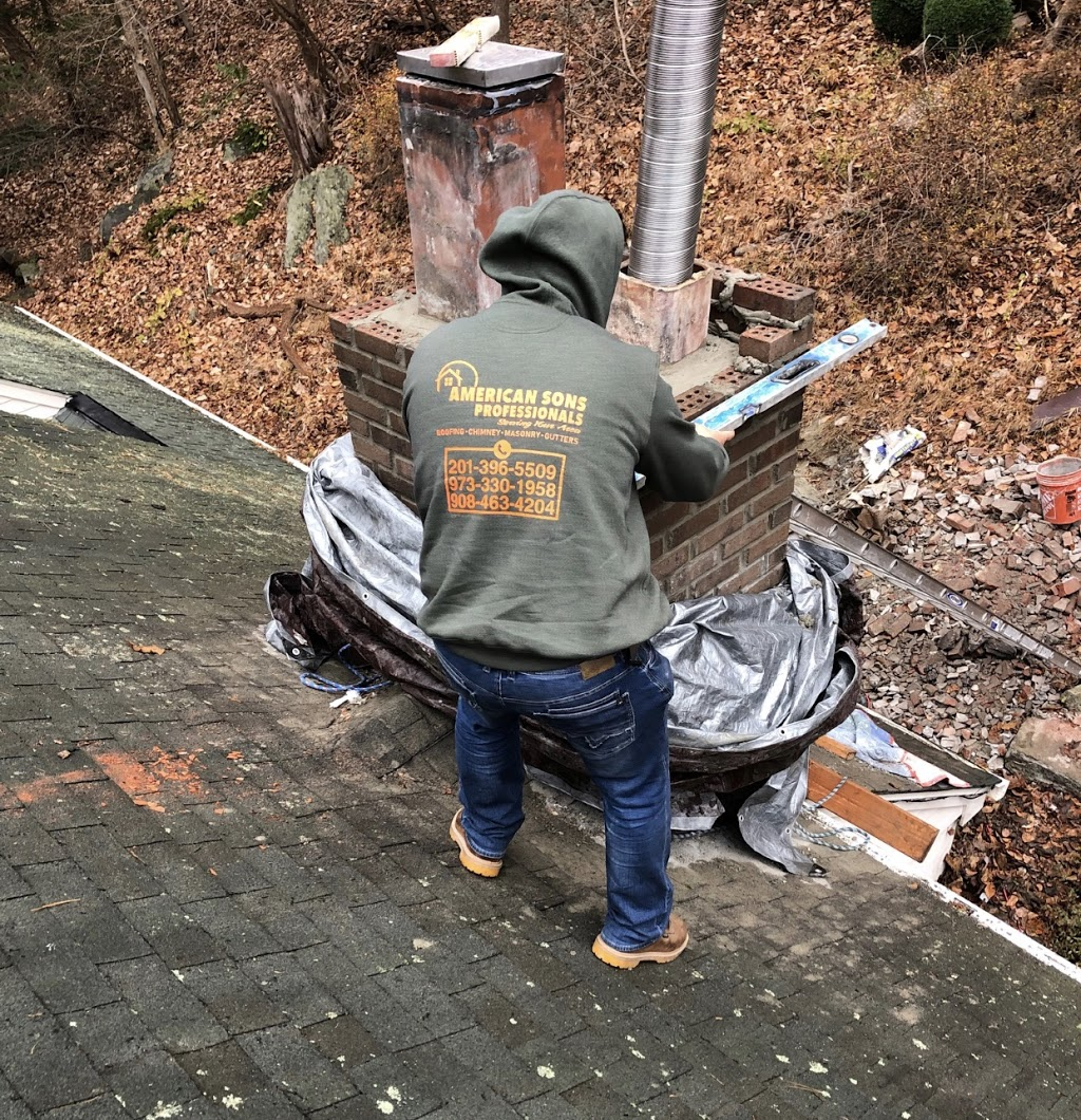 American Sons Professionals Roofing & Chimney - roofing contractor  | Photo 8 of 10 | Address: 425 Riverside Dr, Wayne, NJ 07470, USA | Phone: (201) 396-5509