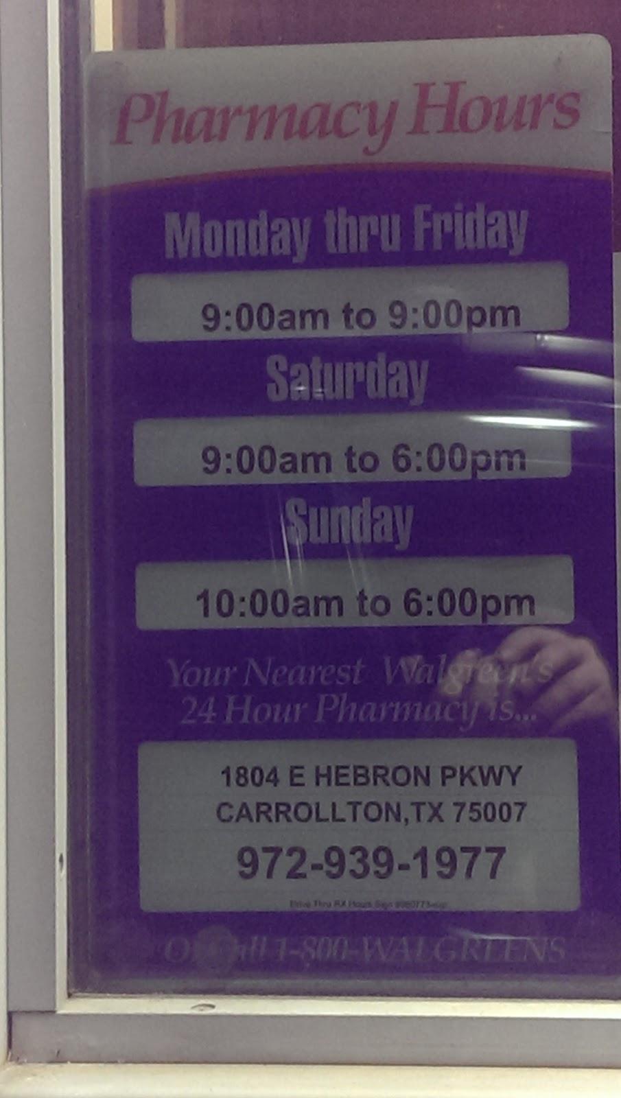 Walgreens - convenience store  | Photo 3 of 5 | Address: 1919 Frankford Rd E, Carrollton, TX 75007, USA | Phone: (972) 394-9273