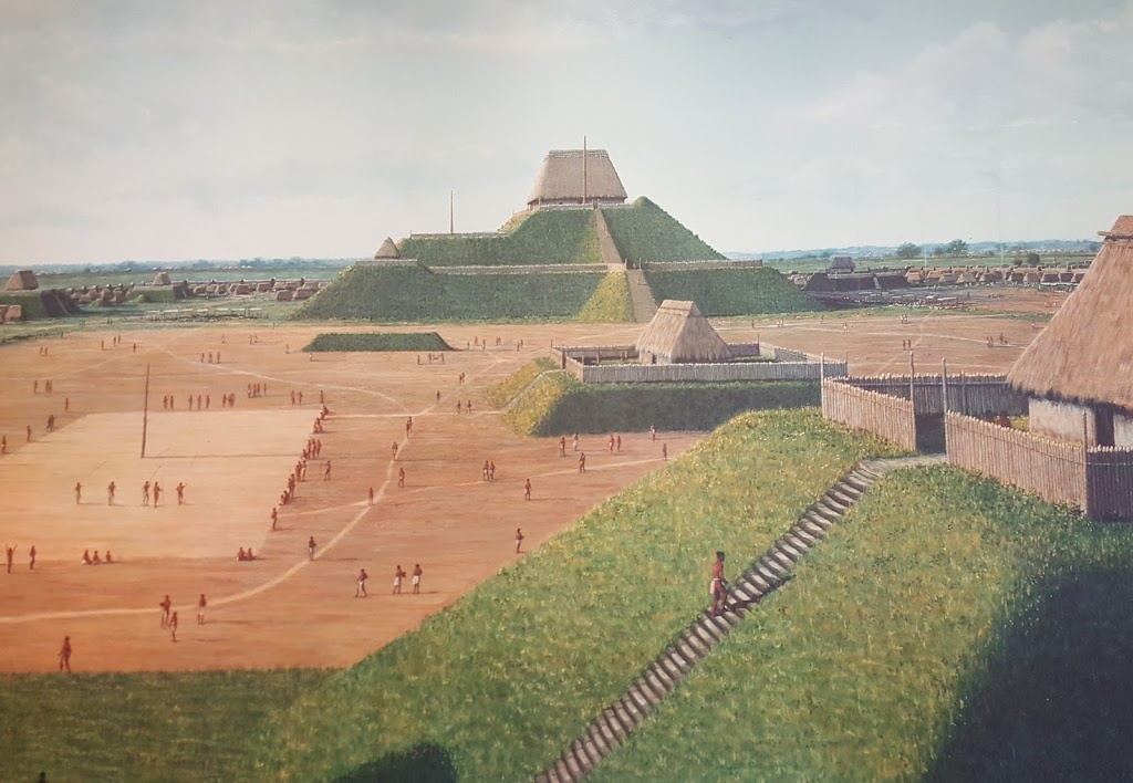 Cahokia Mounds Museum Society - museum    Photo 1 of 10   Address: 30 Ramey St, Collinsville, IL 62234, USA   Phone: (618) 344-9221