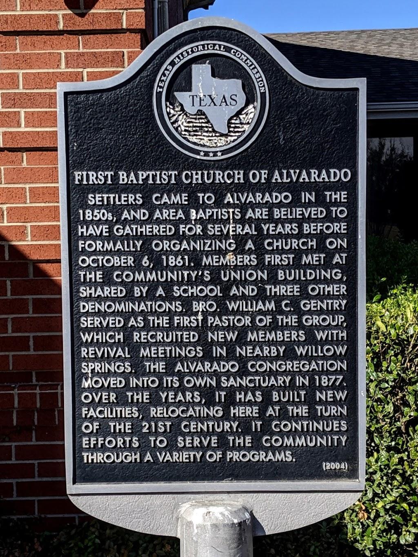 First Baptist Church - church    Photo 7 of 7   Address: 207 US-67, Alvarado, TX 76009, USA   Phone: (817) 783-5181