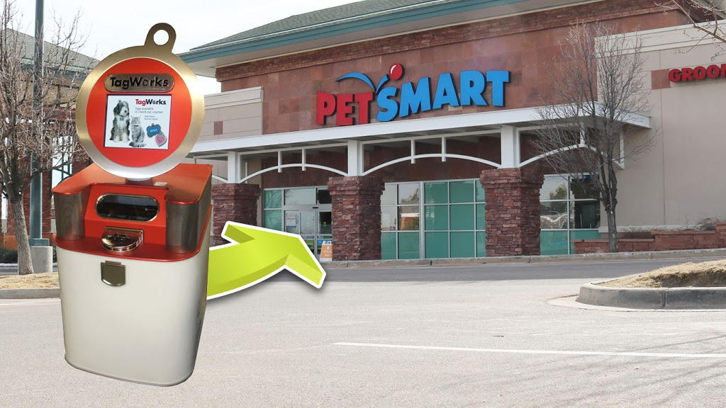 TagWorks - store    Photo 1 of 2   Address: PetSmart, 18761 N S Nogales Hwy, Green Valley, AZ 85614, USA   Phone: (877) 473-8725