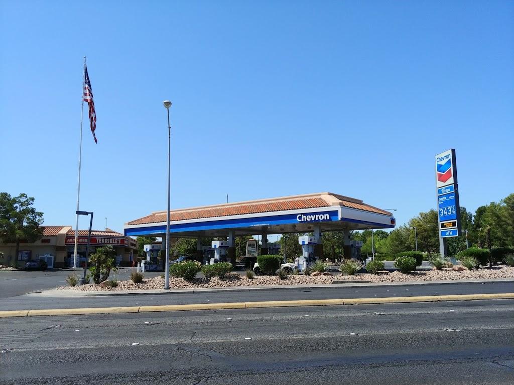 Chevron - gas station    Photo 2 of 2   Address: 6885 W Tropicana Ave, Las Vegas, NV 89103, USA   Phone: (702) 247-7779
