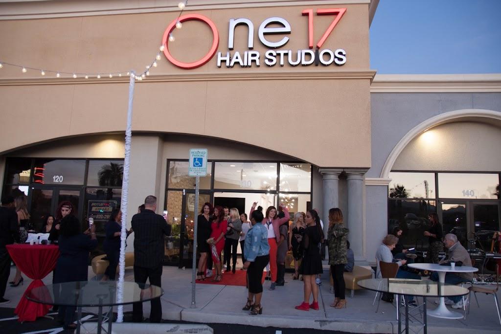 one 17 hair studios - hair care    Photo 2 of 10   Address: 7315 W Warm Springs Rd, Las Vegas, NV 89113, USA   Phone: (702) 496-5778