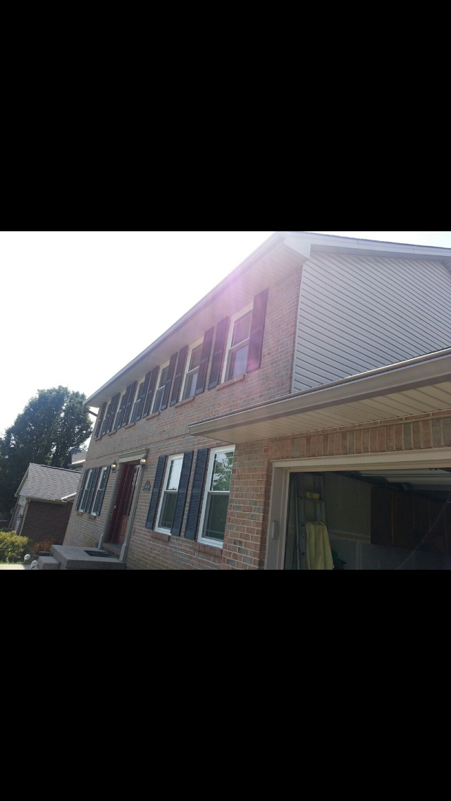 Gutter Magician of Northern Kentucky Inc - roofing contractor  | Photo 4 of 7 | Address: 519 Enterprise Dr # 104, Erlanger, KY 41017, USA | Phone: (859) 781-7444