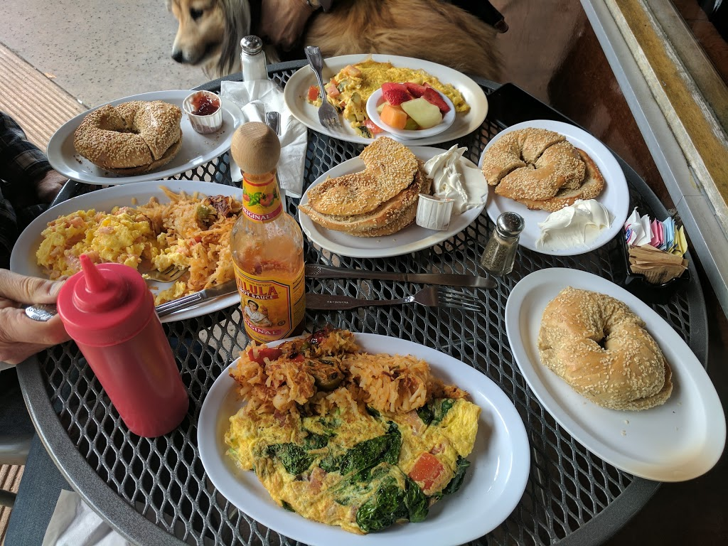 New York Bagel Co. - restaurant  | Photo 2 of 9 | Address: 11640 San Vicente Blvd, Los Angeles, CA 90049, USA | Phone: (310) 820-1050