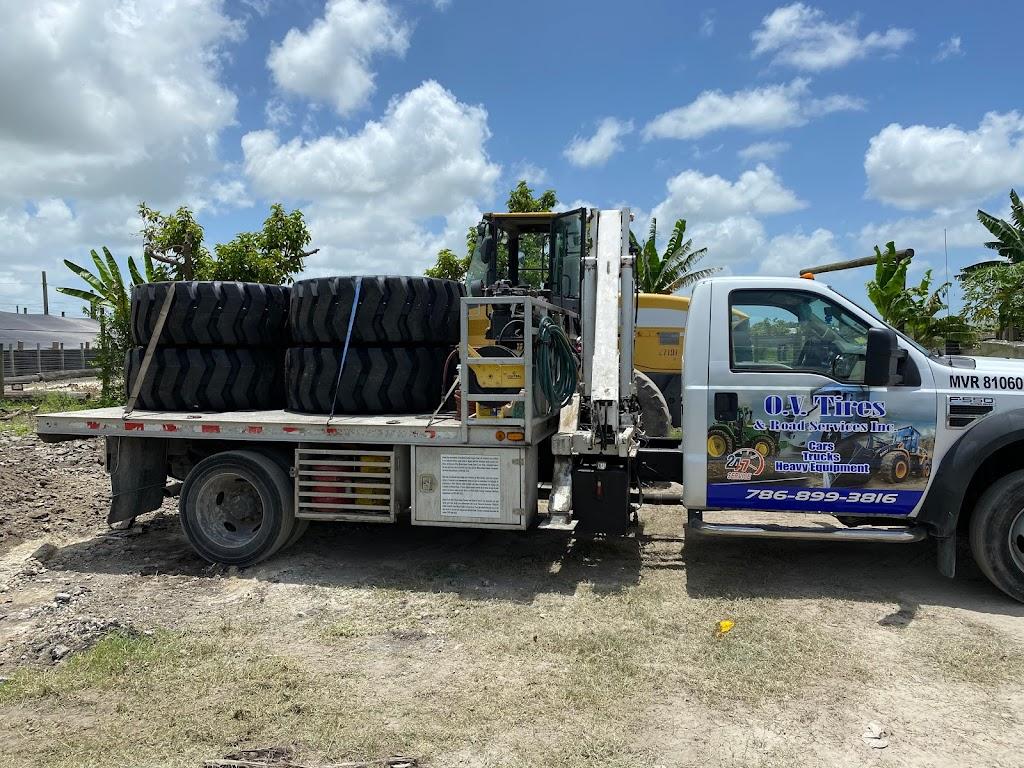 O.V Tires & Road Services Inc - car repair  | Photo 5 of 10 | Address: 2420 SE 15th St, Homestead, FL 33035, USA | Phone: (786) 899-3816