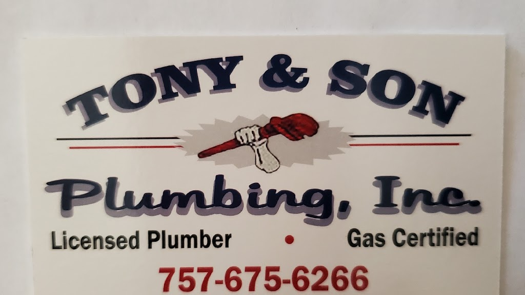 Tony & Son Plumbing, LLC - plumber    Photo 1 of 10   Address: 3808 Highland Ct, Virginia Beach, VA 23456, USA   Phone: (757) 675-6266