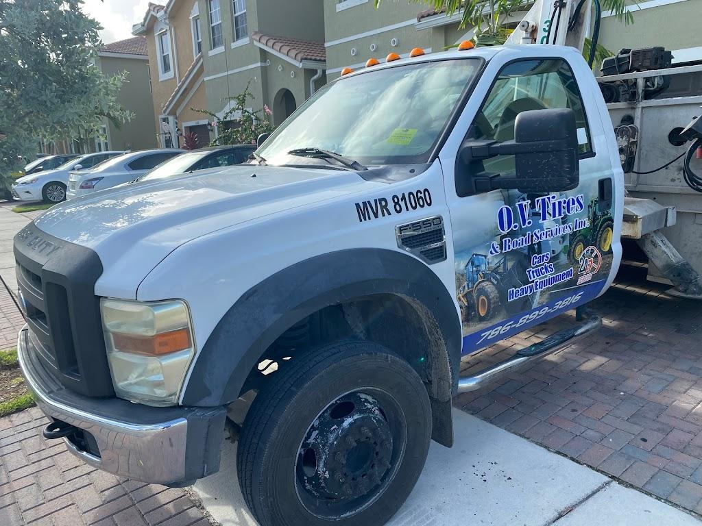 O.V Tires & Road Services Inc - car repair  | Photo 9 of 10 | Address: 2420 SE 15th St, Homestead, FL 33035, USA | Phone: (786) 899-3816