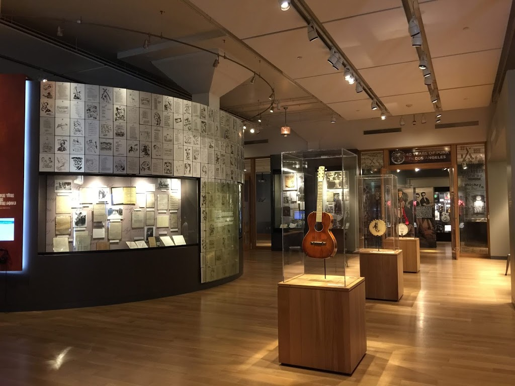 Woody Guthrie Center - museum    Photo 7 of 10   Address: 102 E Reconciliation Way, Tulsa, OK 74103, USA   Phone: (918) 574-2710