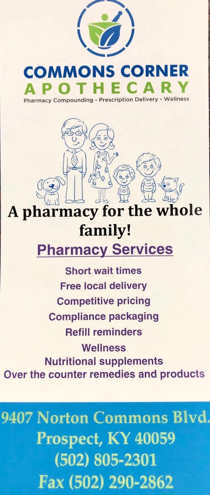 Commons Corner Apothecary - pharmacy  | Photo 4 of 6 | Address: 9407 Norton Commons Blvd, Prospect, KY 40059, USA | Phone: (502) 805-2301
