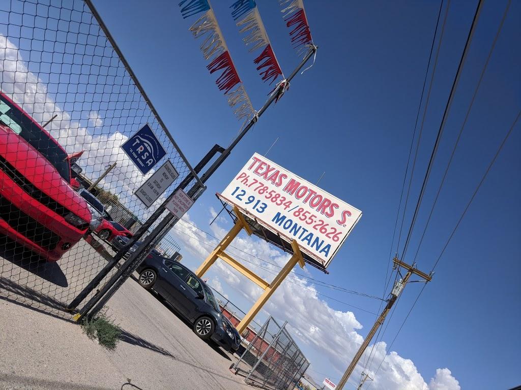 Texas Motors Specialty - car dealer  | Photo 3 of 3 | Address: 12913 Montana Ave, El Paso, TX 79938, USA | Phone: (915) 855-2626