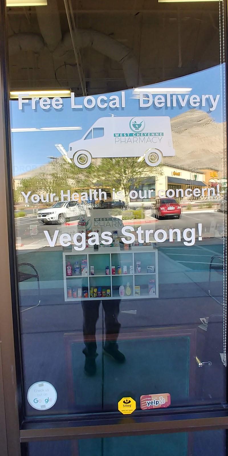 West Cheyenne Pharmacy - pharmacy    Photo 6 of 8   Address: 3350 Novat St suite 110, Las Vegas, NV 89129, USA   Phone: (702) 395-3004