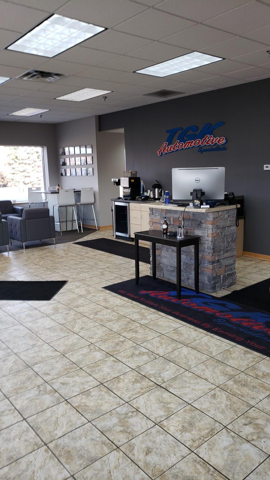 TGK Automotive Specialists of Eden Prairie - car repair  | Photo 4 of 10 | Address: 9051 Flying Cloud Dr., Eden Prairie, MN 55347, USA | Phone: (952) 941-3481
