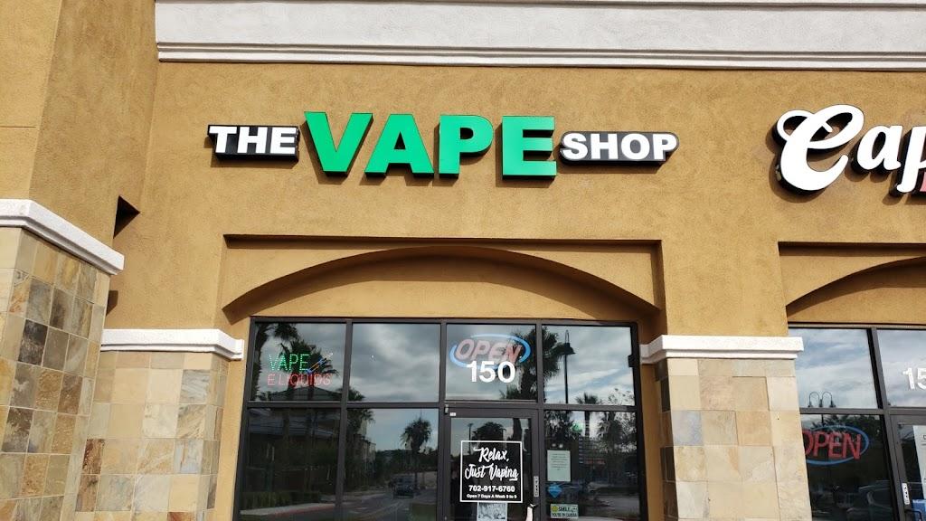 The Vape Shop - store    Photo 1 of 1   Address: 7240 W Azure Dr #150, Las Vegas, NV 89130, USA   Phone: (702) 917-6760