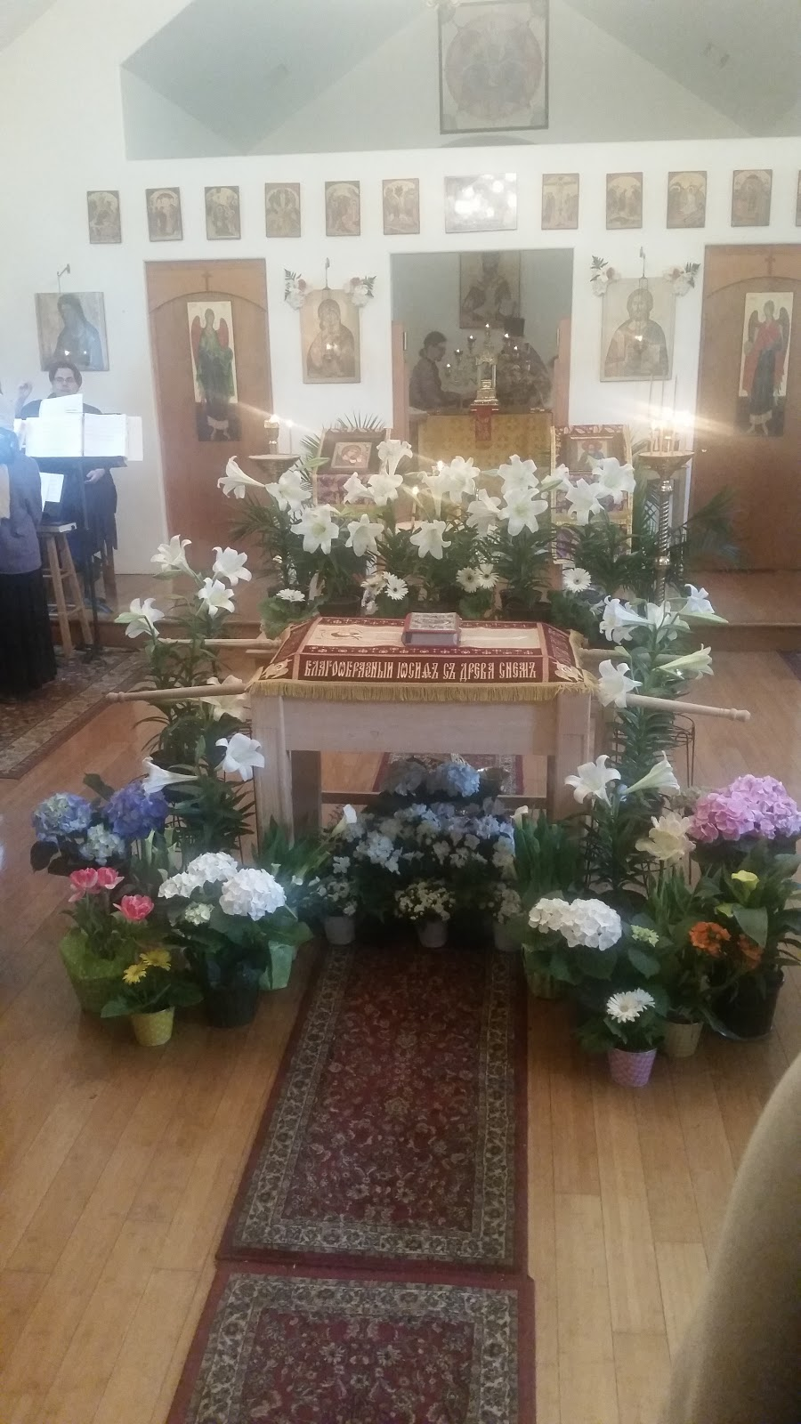 St. Nicholas Russian Orthodox Church - church    Photo 3 of 9   Address: 708 S Chestnut St, McKinney, TX 75069, USA   Phone: (972) 658-5433