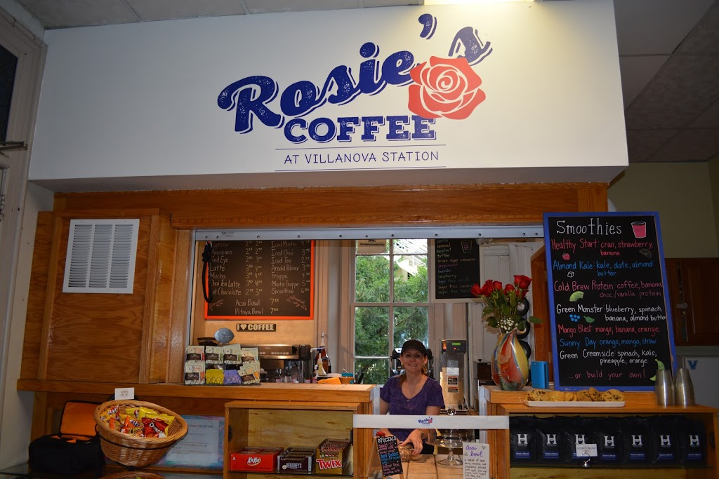 Rosies Coffee at Villanova Station - cafe  | Photo 1 of 10 | Address: Train Station, 308 N Spring Mill Rd, Villanova, PA 19085, USA | Phone: (267) 253-1249