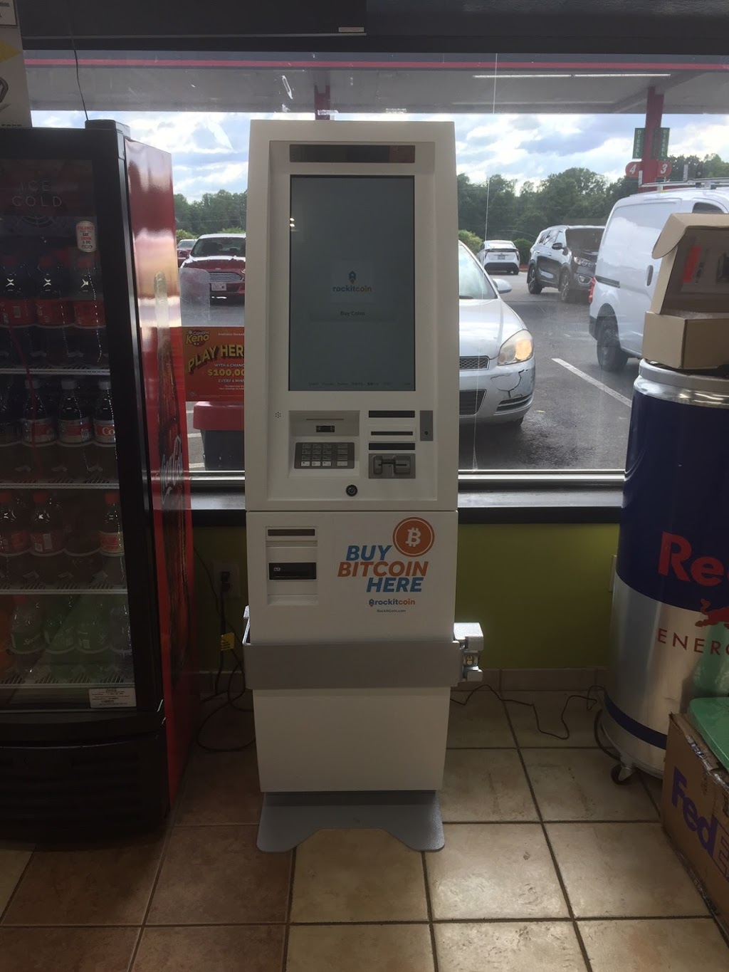 RockItCoin Bitcoin ATM - atm    Photo 3 of 3   Address: 2301 US-220, Stokesdale, NC 27357, USA   Phone: (888) 702-4826