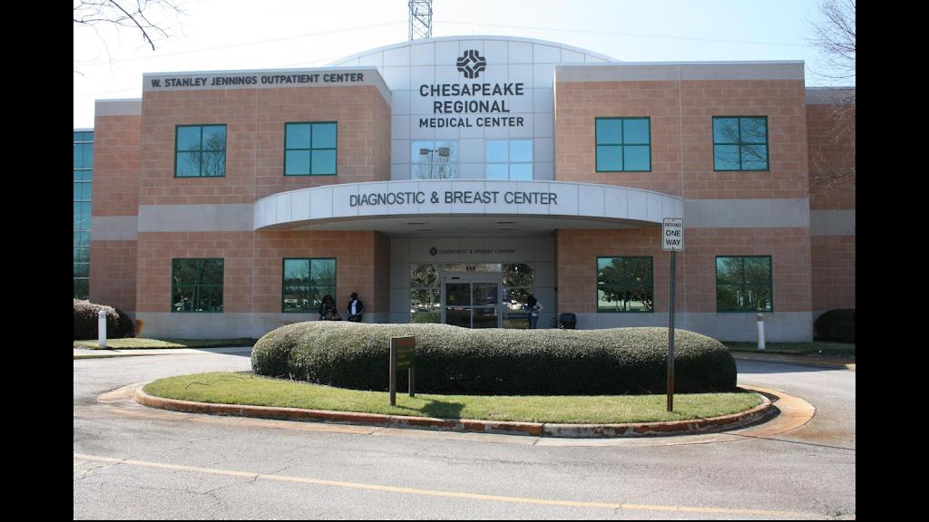 Chesapeake Regional Breast Care - health    Photo 1 of 10   Address: 844 N Battlefield Blvd #100, Chesapeake, VA 23320, USA   Phone: (757) 312-6137