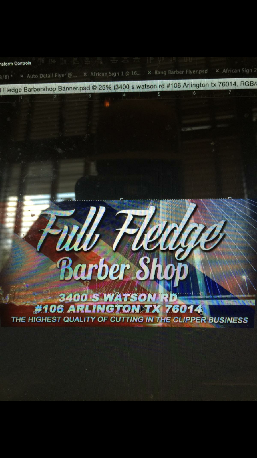 Full Fledge Barber & Beauty Salon - hair care  | Photo 10 of 10 | Address: 3400 S Watson Rd #106, Arlington, TX 76014, USA | Phone: (972) 639-2258