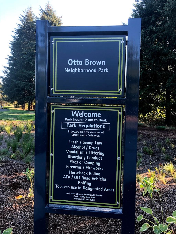 Otto Brown Neighborhood Park - park  | Photo 5 of 10 | Address: 15809 NE 96th St, Vancouver, WA 98682, USA | Phone: (360) 397-2285