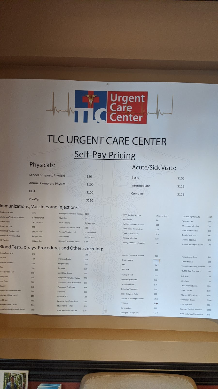 TLC Urgent Care Center - health  | Photo 4 of 5 | Address: 10205 W Hillsborough Ave, Tampa, FL 33615, USA | Phone: (813) 884-2370