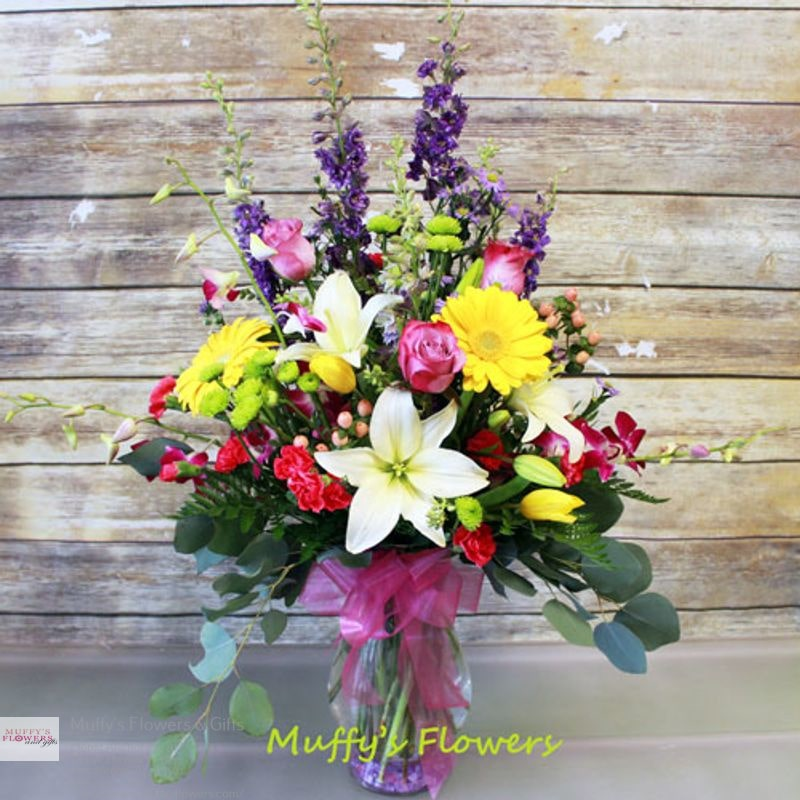 Muffys Flowers & Gifts - florist  | Photo 4 of 4 | Address: 333 W 4th Ave #218, Anchorage, AK 99501, United States | Phone: (907) 562-4770