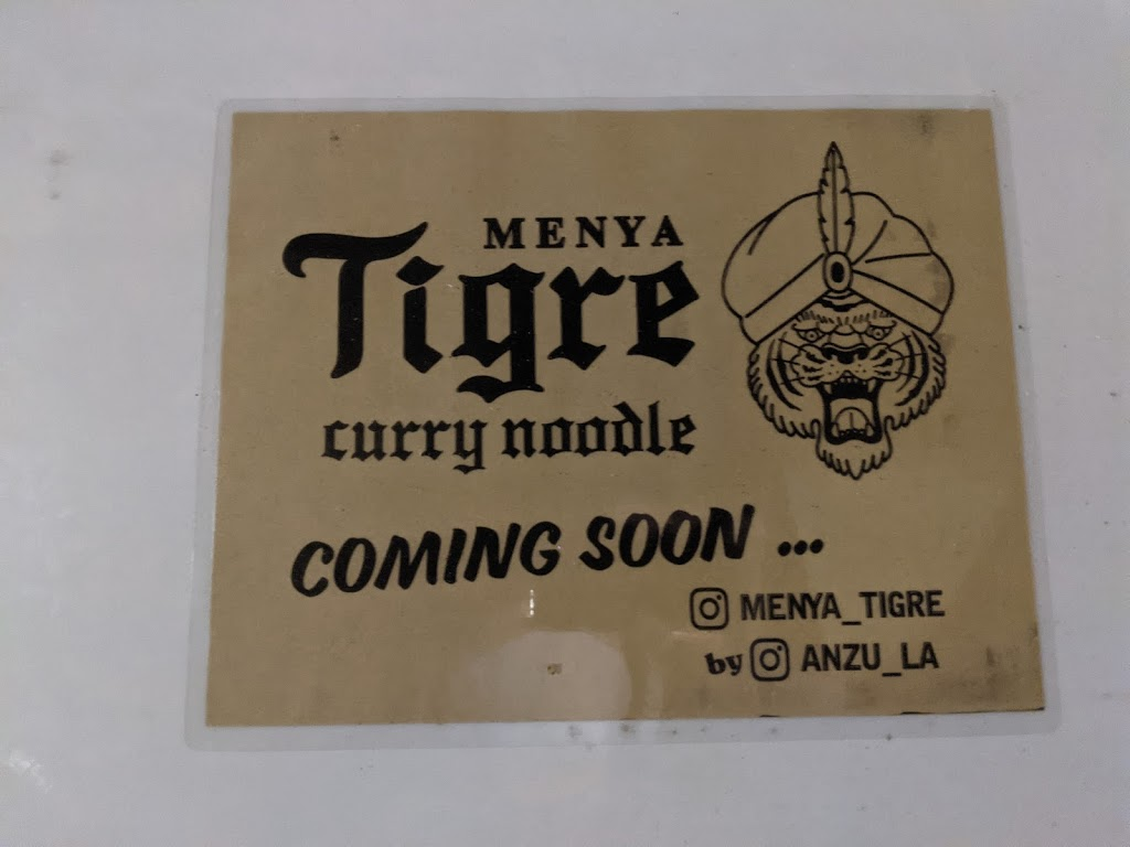 Menya Tigre - restaurant    Photo 10 of 10   Address: 2012 Sawtelle Blvd, Los Angeles, CA 90025, USA   Phone: (310) 231-9290
