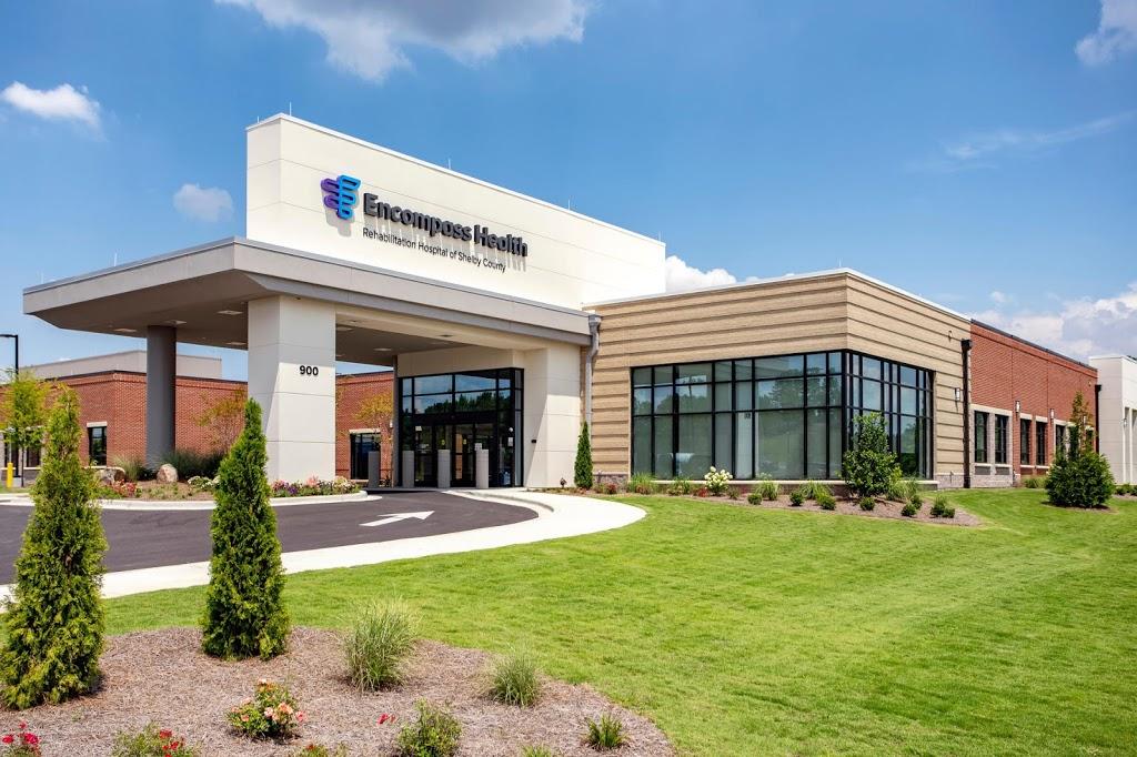 Encompass Health Rehabilitation Hospital of Shelby County - hospital    Photo 2 of 5   Address: Lane, 900 Oak Mountain Trail, Pelham, AL 35124, USA   Phone: (205) 216-7600
