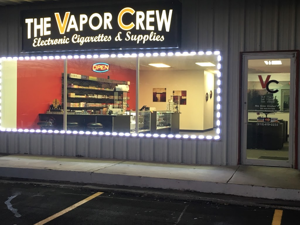 The Vapor Crew - store  | Photo 1 of 10 | Address: 11 East 34th St S, Sand Springs, OK 74063, USA | Phone: (918) 514-0015