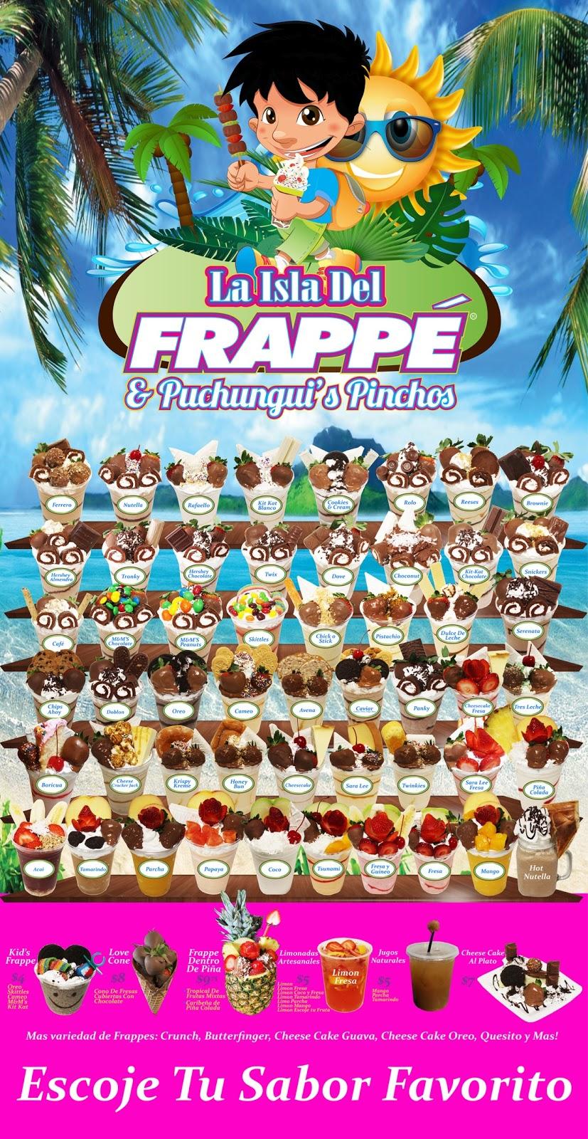 La Isla Del Frappe & Puchunguis Pinchos - restaurant  | Photo 8 of 10 | Address: 7401 E Colonial Dr, Orlando, FL 32807, USA | Phone: (407) 300-2196