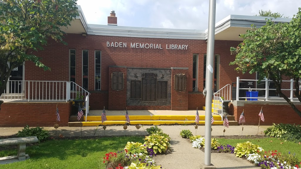 Baden Memorial Library - library  | Photo 3 of 4 | Address: 385 State St, Baden, PA 15005, USA | Phone: (724) 869-3960