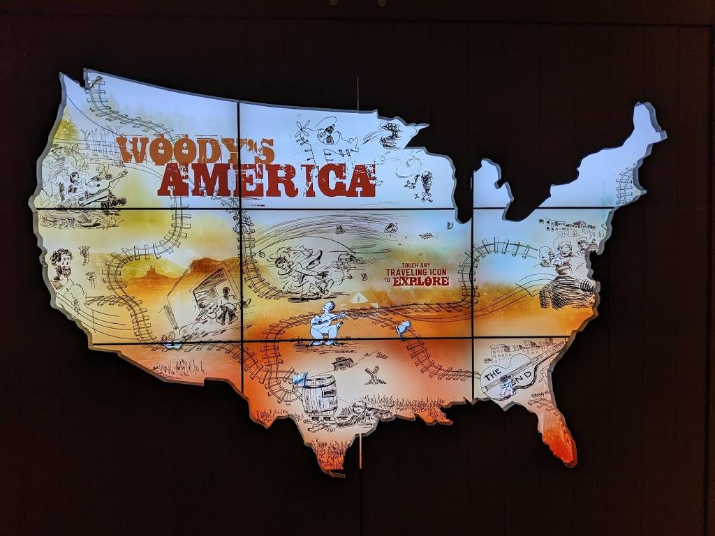 Woody Guthrie Center - museum    Photo 8 of 10   Address: 102 E Reconciliation Way, Tulsa, OK 74103, USA   Phone: (918) 574-2710
