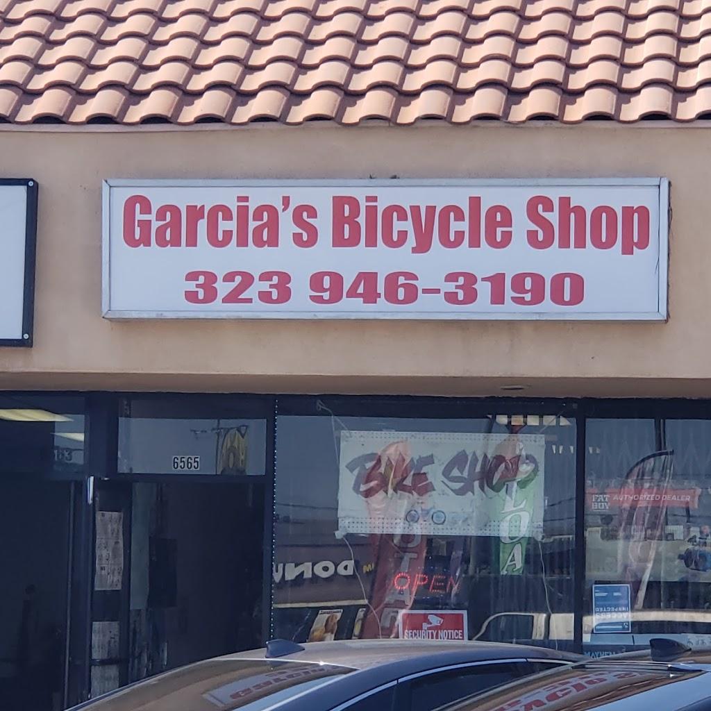 Garcias bike shop - bicycle store    Photo 1 of 1   Address: 6565 E Olympic Blvd, East Los Angeles, CA 90022, USA   Phone: (323) 946-3190